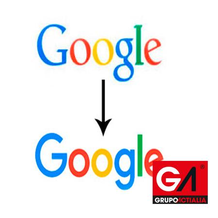 Evolución Logo Google