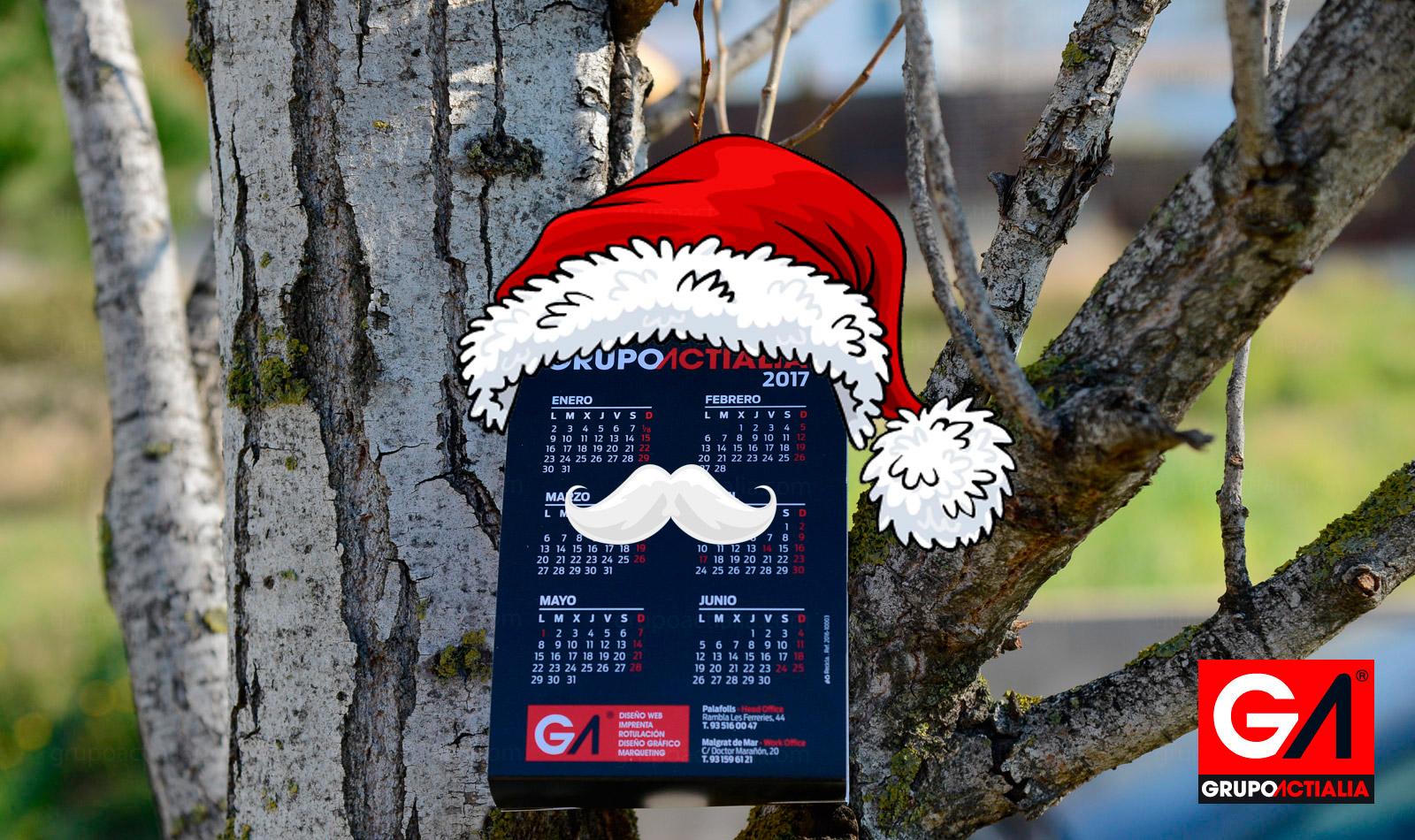 Calendarios Navideños