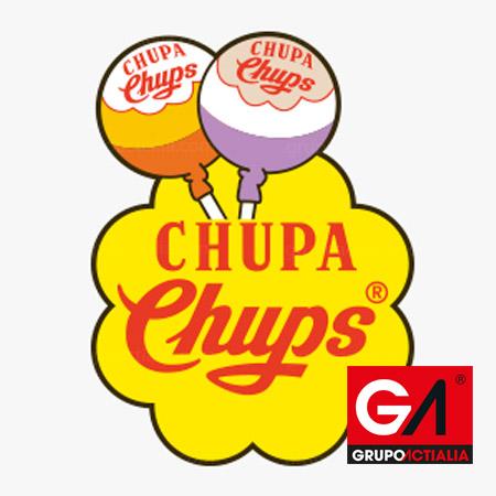 Logotipo Chupa Chups Años 70