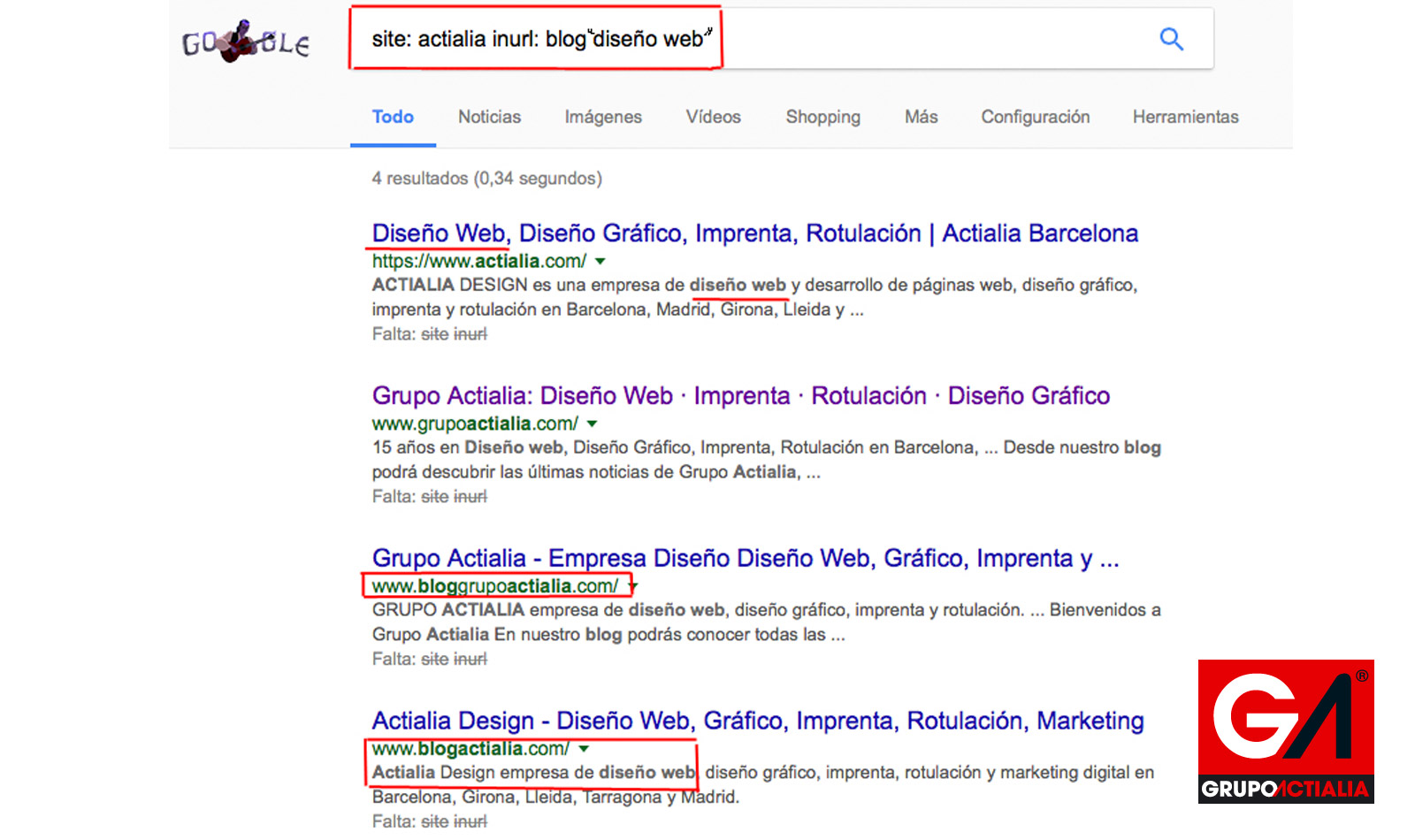 Footprints técnicas avanzadas en google