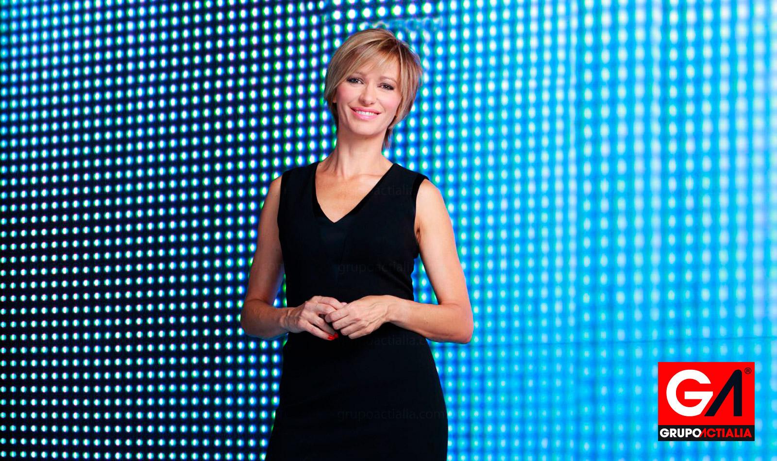 Susanna Griso, periodista y presentadora de televisión, participa en acción solidaria