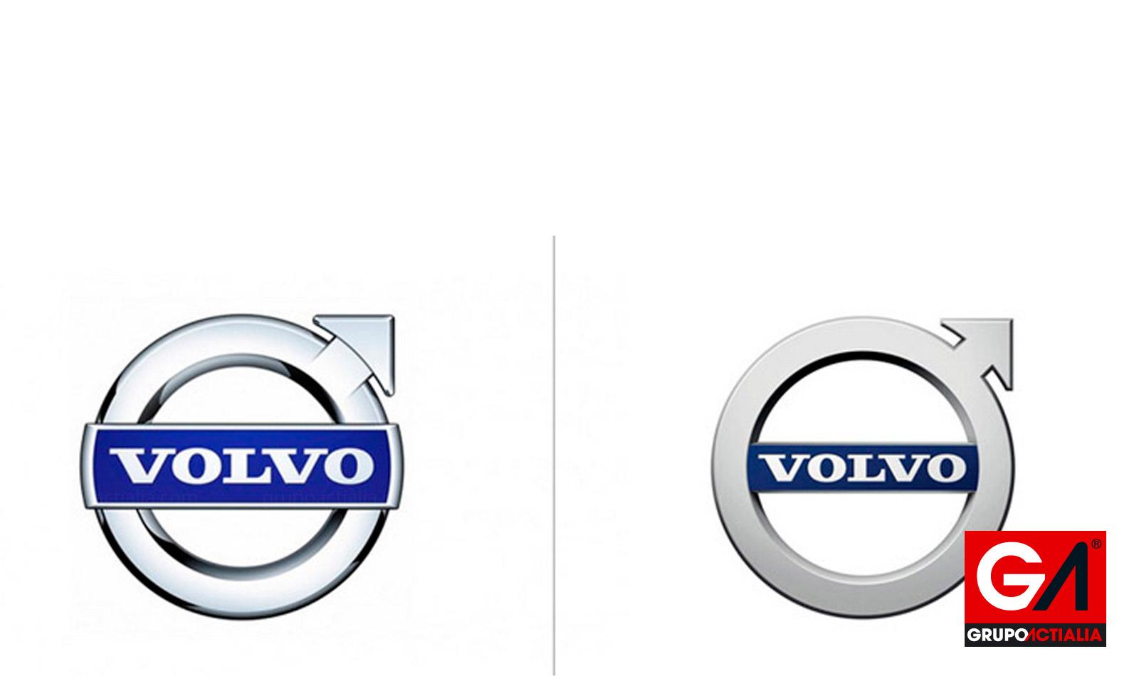 Volvo presenta nuevo logotipo